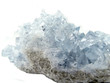 canvas print picture - celestite geode geological crystals