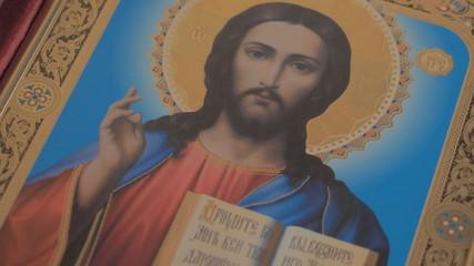 Madonna (Mary) of Jerusalem and a child (Jesus Christ)