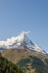 Zermatt, Dorf, Walliser Berge, Alpen, Furi, Sommer, Schweiz