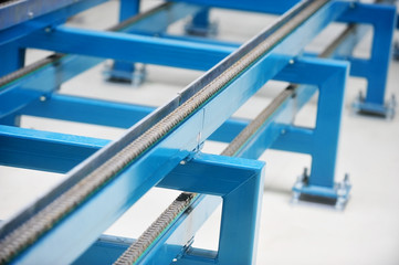 Industrial conveyor chain