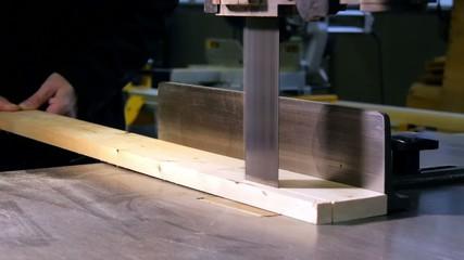 carpenter at work close up