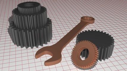 Gears and mechanics