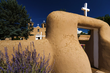 Francisco de Assis Kirche in Taos, USA