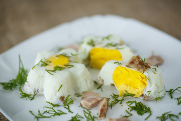 eggs steamed