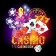 Casino Party Vector - 73040852