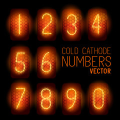 Cold Cathode Retro Display Numbers