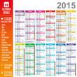 Calendrier 2015 - Multicalques