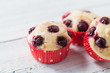 Sour Cherry Muffins,  made with fresh cherries