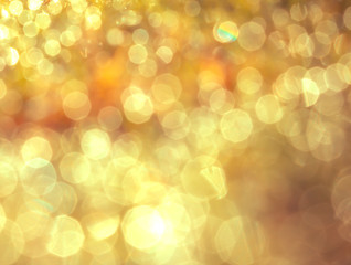 Abstract bokeh lighting background