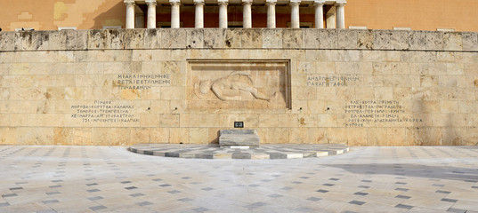 The unknown soldier monument, Athens, Greece