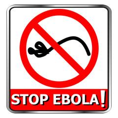 Stop ebola icon symbol signs vector