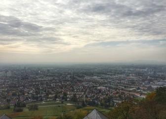 Stadt Heilbronn vom Wartberg aus gesehen