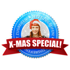 X-Mas Special! Button, Icon