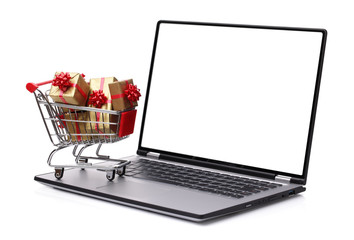 Gift shopping on the internet