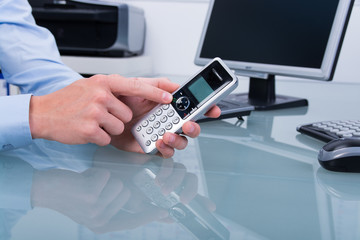 kundenservice per telefon