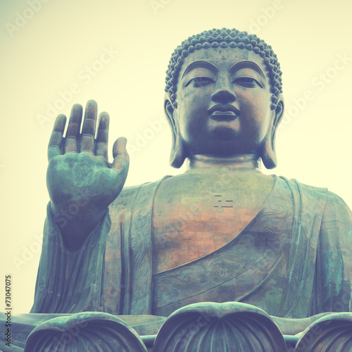 Foto op Canvas Hong-Kong Giant Buddha