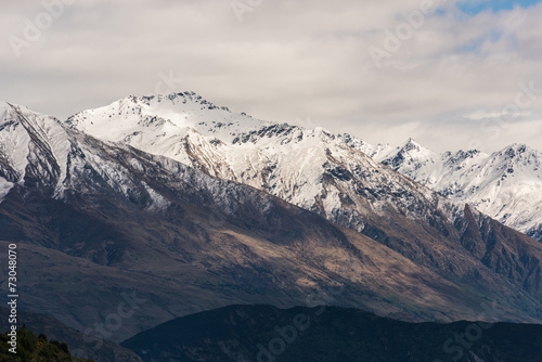 Fotobehang Nieuw Zeeland Mt Aspring New Zealand