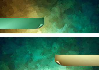 Abstract Painting Vector Background