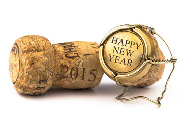 Champagnerkorken - Happy New Year 2015