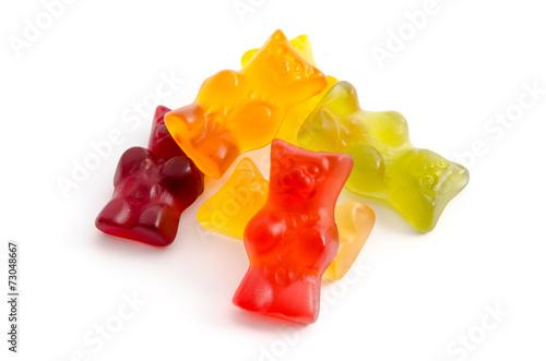 Keuken foto achterwand Snoepjes Gummibärchen