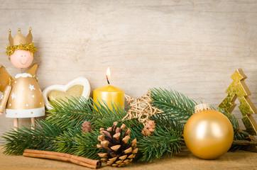 weihnachtsarrangement zum ersten advent