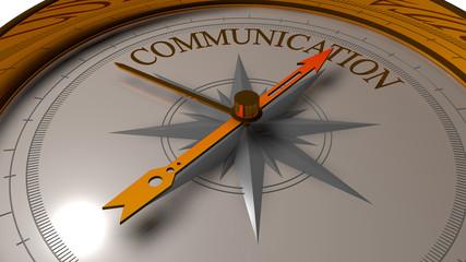 Communication concept.