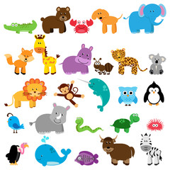 Vector Collection of Animals