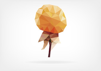 Low Poly Cloudberry / Nordic Berry