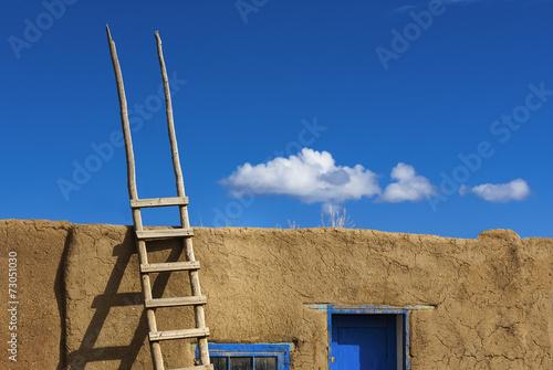 Papiers peints Route 66 Taos Pueblo, älteste Indianerhäuser in USA