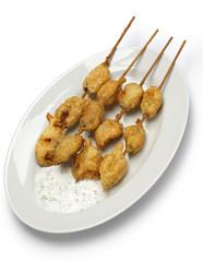 fried mussels, midye tava, turkish food