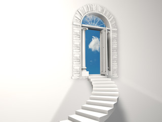 Paradise staircase.