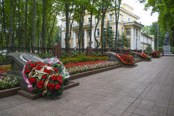 the memorial of the heroes of the Soviet Union