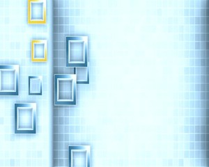 кубики в движении
