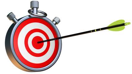 chronometer with arrow