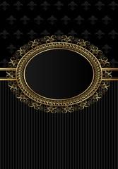 luxury vintage frame for design packing
