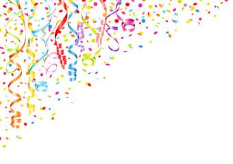 Streamer & Confetti Color DIN A4