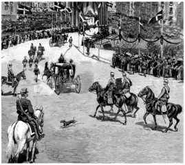 Royal Cortege - 19th century