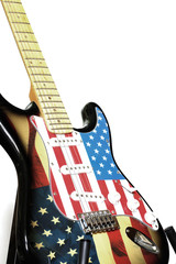 electric guitar American flag 2