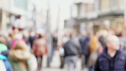 Menschen Einkaufspassage