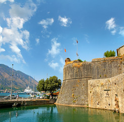 Old Fortress Walls of Kotor, Bastion Gurdic, Montenegro, UNESCO