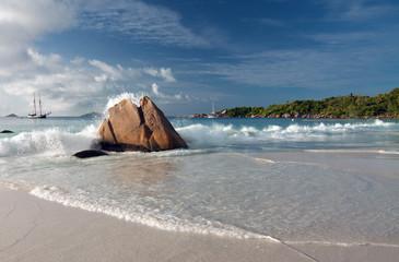 Seychelles - Praslin - Anse Lazio beach