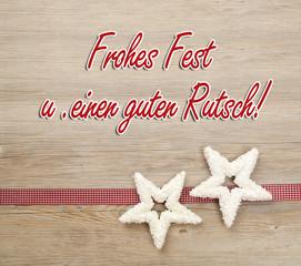 Frohes Fest u. guten Rutsch