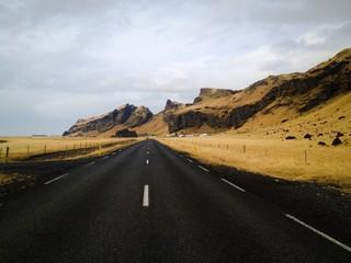 Icelandic scenic road
