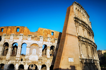 Colosseum at Rome, Italy