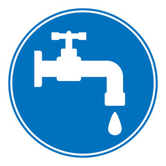 Water tap button