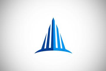 building business construction vector logo