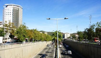 Ronda de Dalt en Barcelona