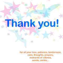 Thank you for all your love...