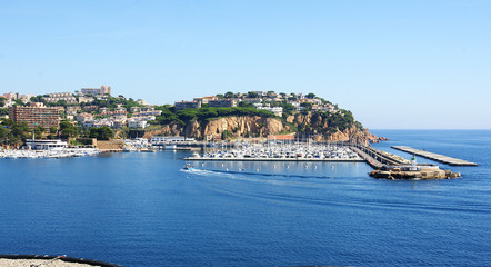 Puerto deportivo de Sant Feliu de Guixols, Girona