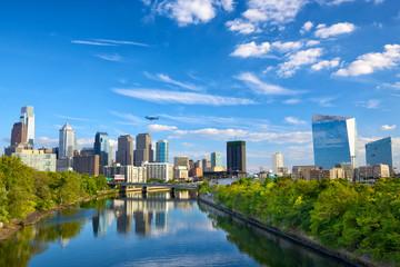 Downtown skyline in Philadelphia, Pennsylvania, USA